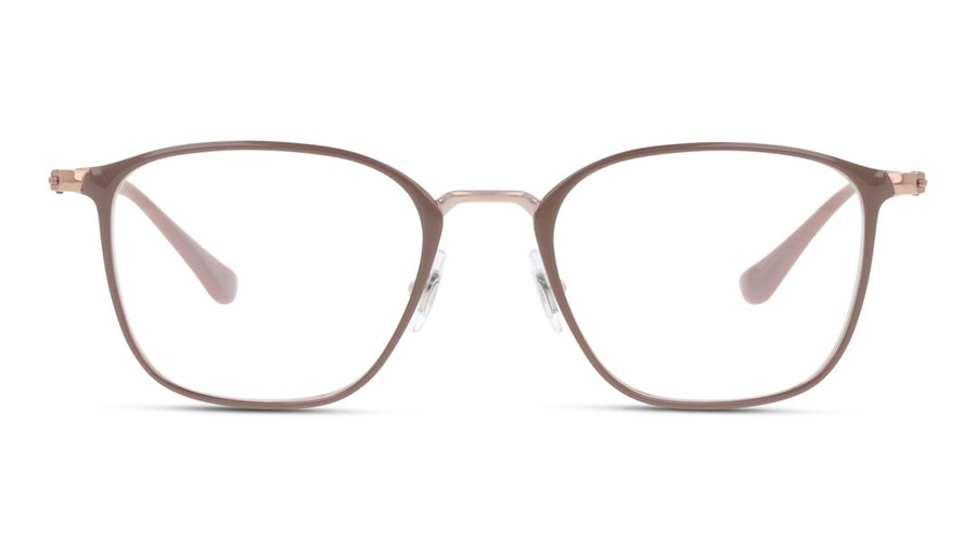 Ray-Ban RX 6466 Unisex Glasses Beige