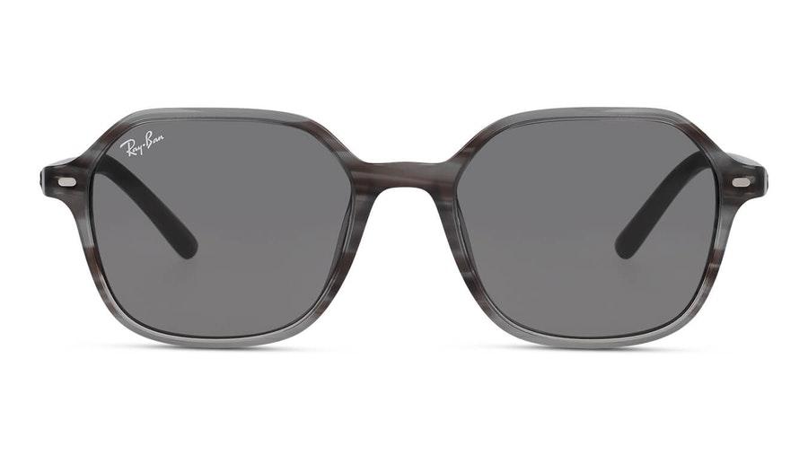 Ray-Ban John RB 2194 (1314B1) Sunglasses Grey / Grey