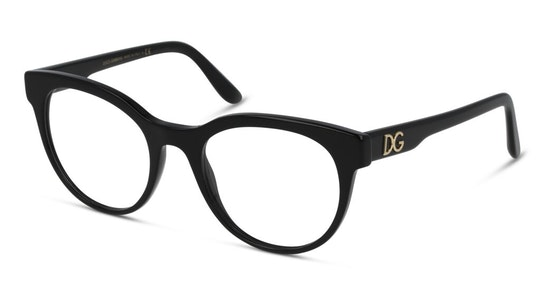 DG 3334 Women's Glasses Transparent / Black