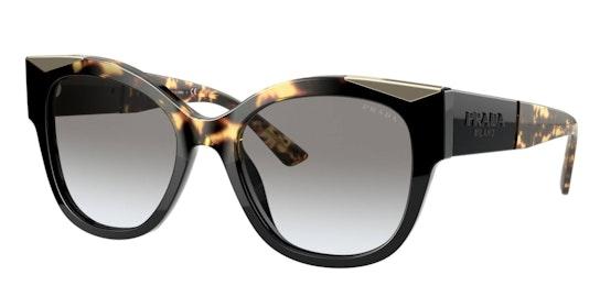 PR 02WS Women's Sunglasses Grey / Black