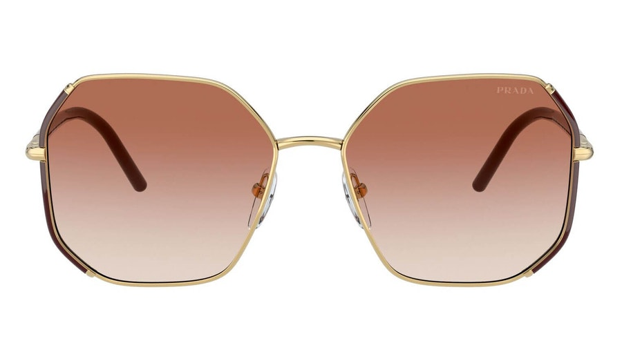 Prada PR 52WS (07M2F1) Sunglasses Pink / Gold