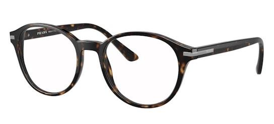 PR 13WV Men's Glasses Transparent / Black