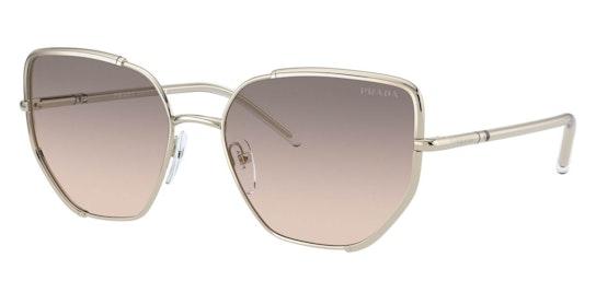 PR 50WS Women's Sunglasses Grey / Gold