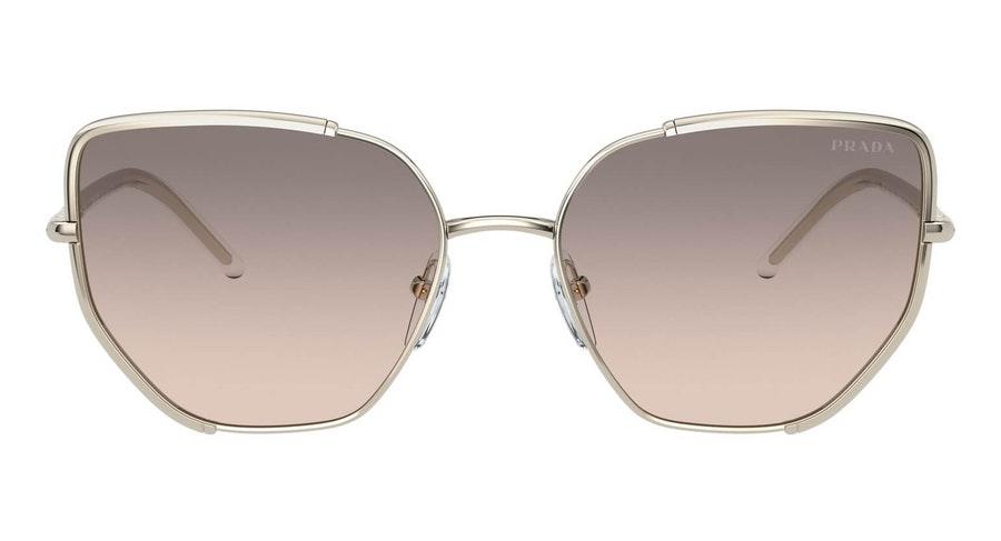 Prada PR 50WS (ZVN4K0) Sunglasses Grey / Gold