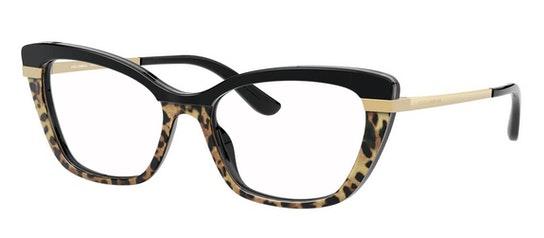 DG 3325 Women's Glasses Transparent / Black