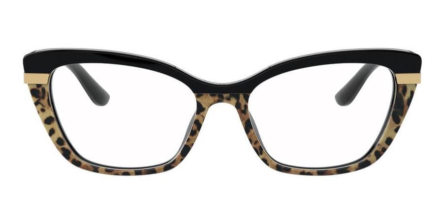 Dolce & Gabbana DG 3325 Women's Glasses Black