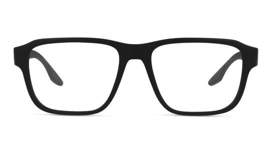 PS 04NV Men's Glasses Transparent / Black
