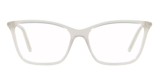 PR 08WV Women's Glasses Transparent / White