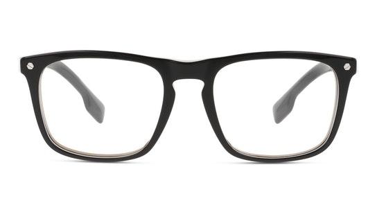 BE 2340 Men's Glasses Transparent / Black