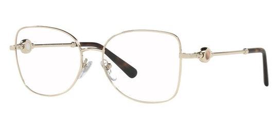 BV 2227 Women's Glasses Transparent / Gold