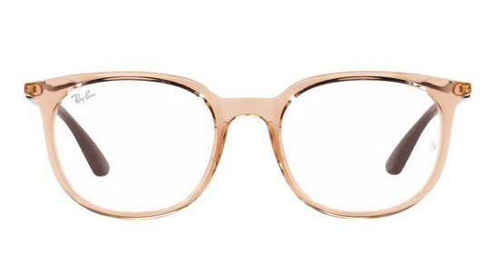RX 7190 Unisex Glasses Transparent / Brown