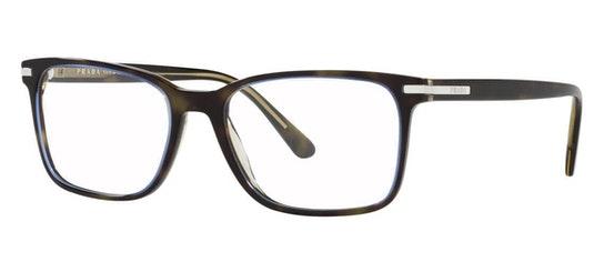 PR 14WV Men's Glasses Transparent / Tortoise Shell