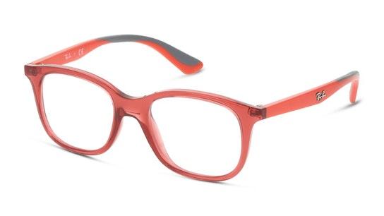 RY 1604 Children's Glasses Transparent / Red