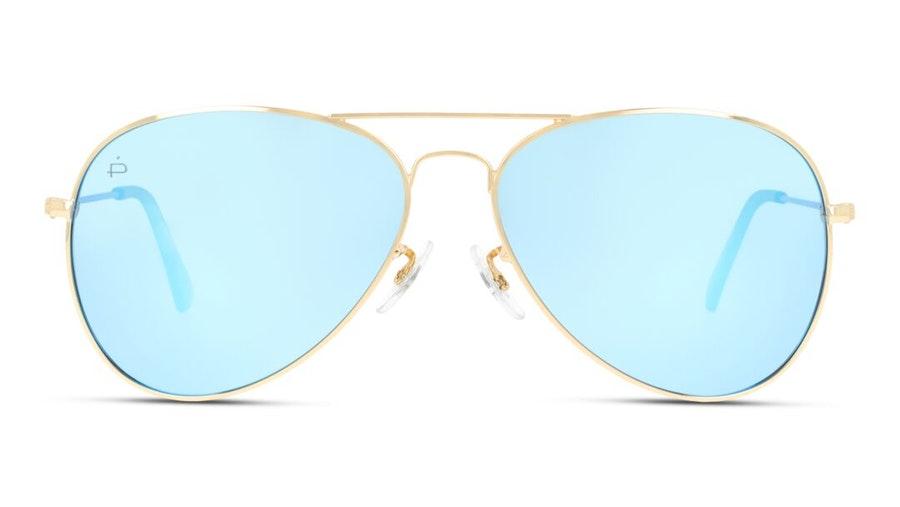 Prive Revaux Commando Unisex Sunglasses Brown / Gold