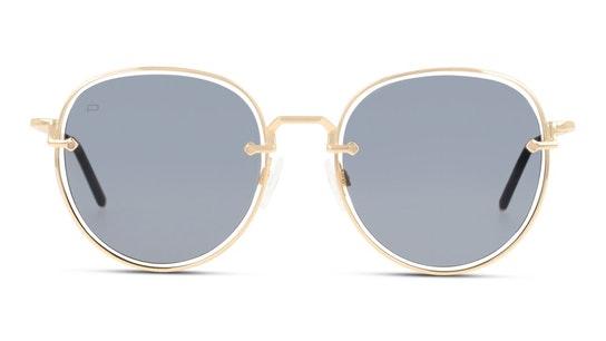 Escobar Unisex Sunglasses Grey / Gold