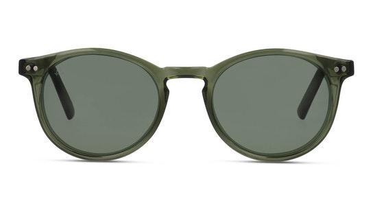 The Maestro Unisex Sunglasses Green / Green
