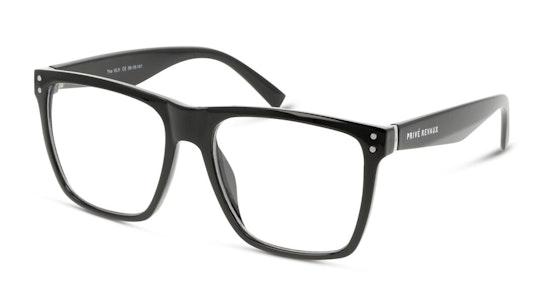 MLK Men's Glasses Transparent / Black