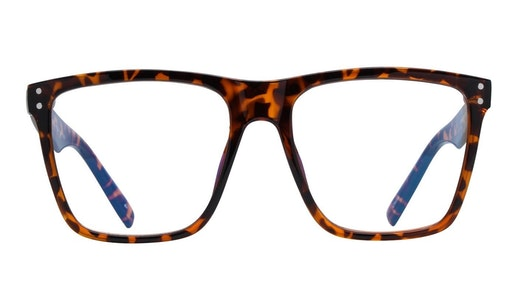 Visionary MLK Men's Glasses Transparent / Havana