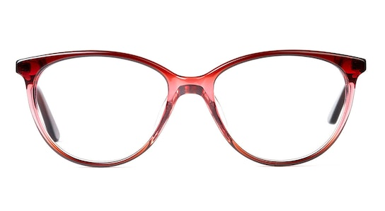 MNG 1908 Women's Glasses Transparent / Red