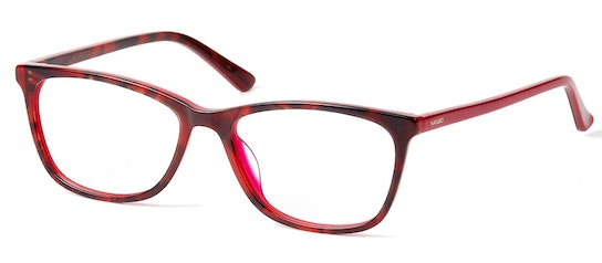 MNG 1971 Women's Glasses Transparent / Red