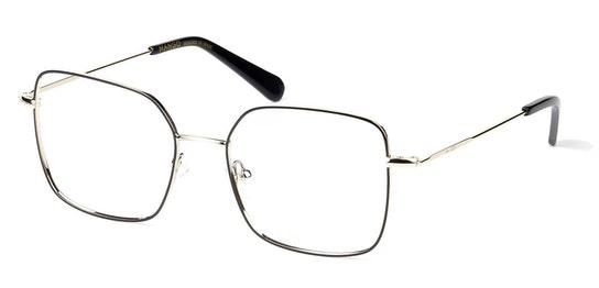 MNG 2002 Women's Glasses Transparent / Gold