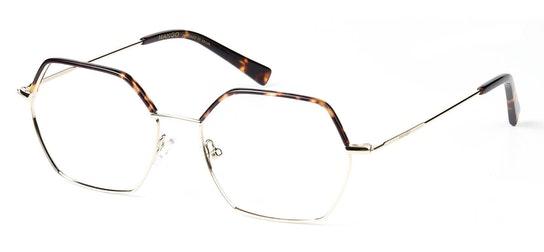 MNG 2005 Women's Glasses Transparent / Tortoise Shell