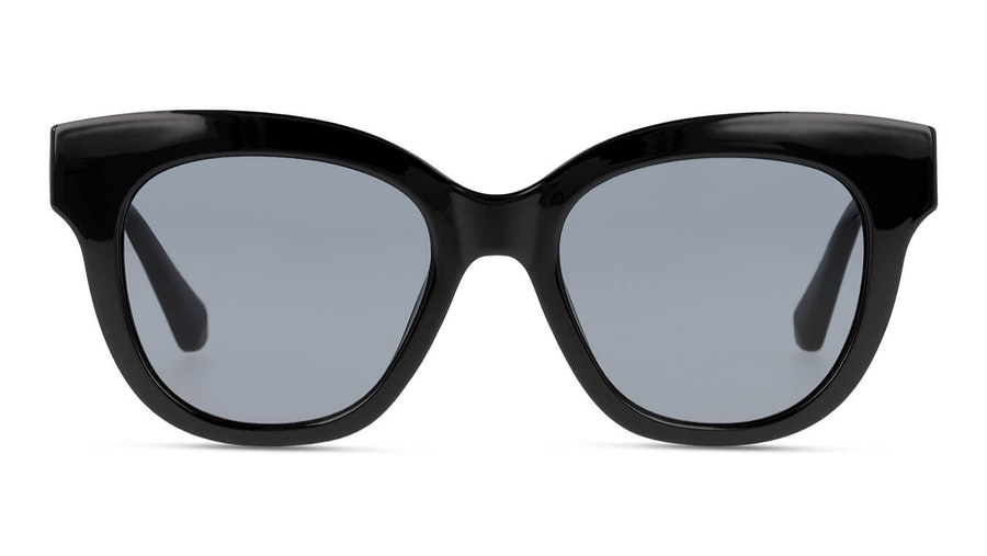 Hawkers Black Audrey 110026 Women's Sunglasses Grey / Black