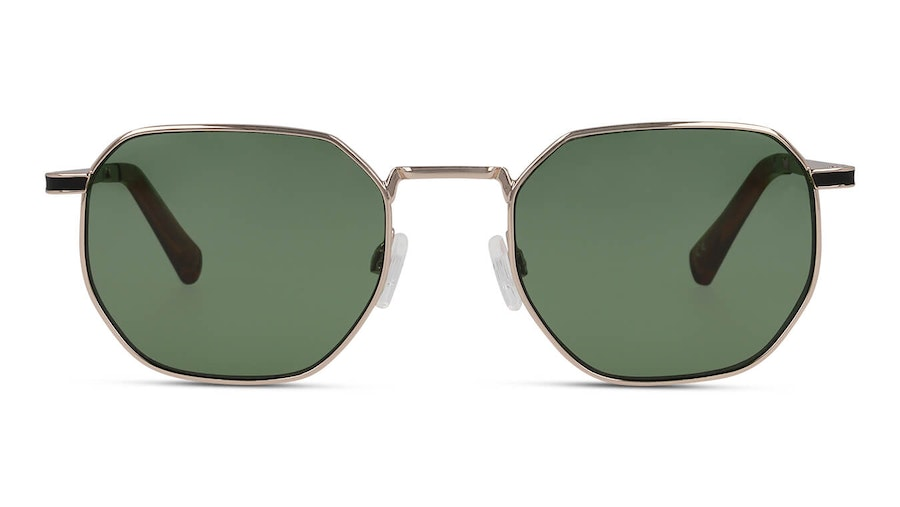 Hawkers Gold Green Bottle Sixgon 130021 (0) Sunglasses Green / Gold