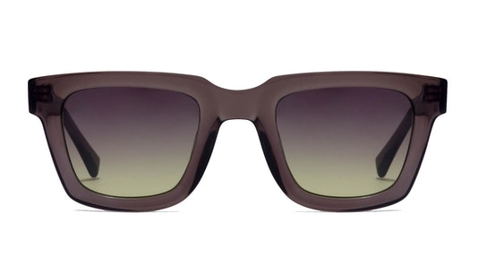 One Uptown HOUP21GMX0 Unisex Sunglasses Green / Grey