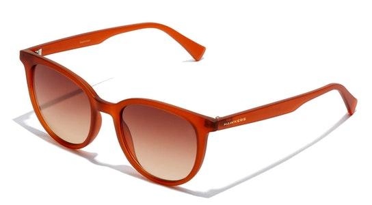 B-Town HBTO21RWT0 Unisex Sunglasses Brown / Brown