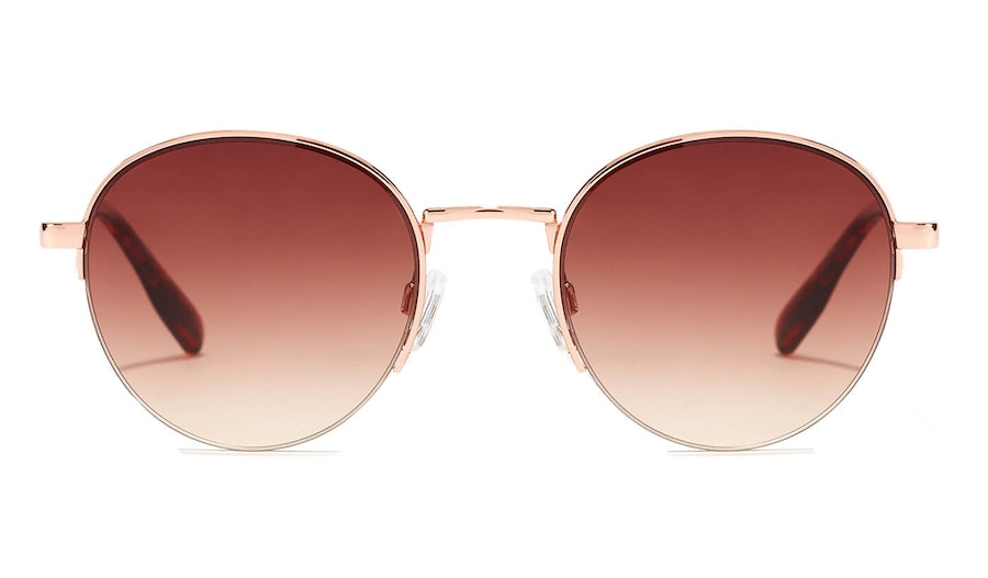 Hawkers Moma Crosstown HMCT21KWM0 Unisex Sunglasses Brown / Rose Gold