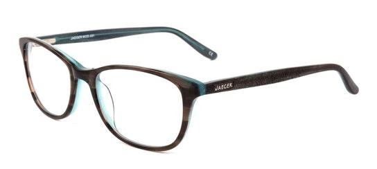 031 Women's Glasses Transparent / Grey