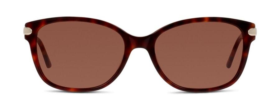 C-Line CN EF12 Women's Sunglasses Brown / Havana