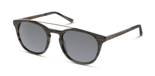 HS FM08 Unisex Sunglasses Grey / Black