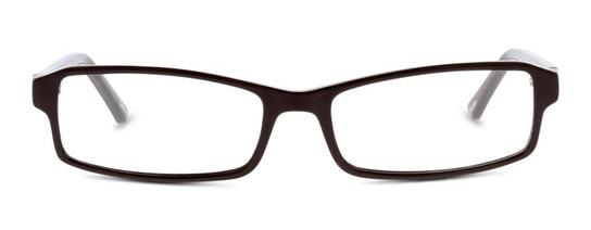 SN EM08 Women's Glasses Transparent / Brown