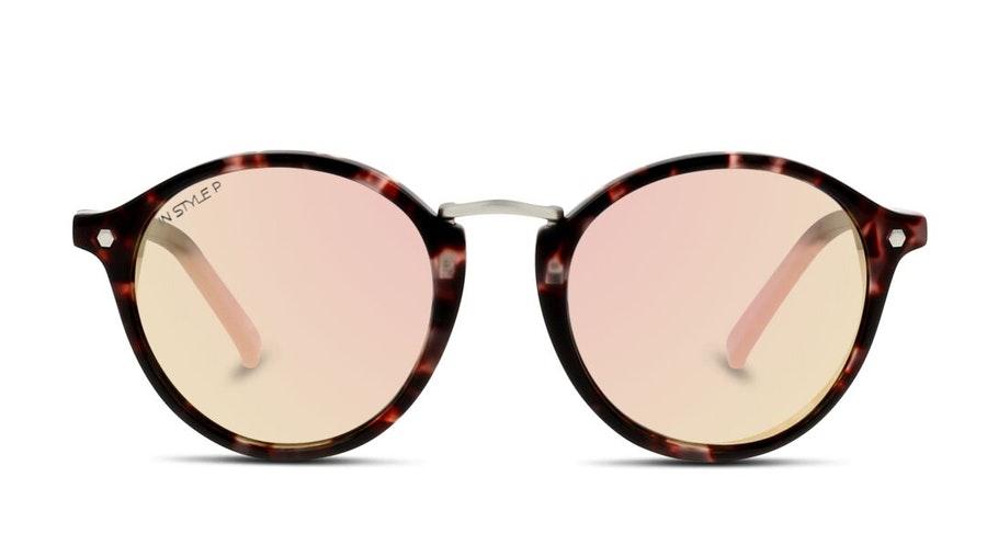 In Style IL FU02P Women's Sunglasses Pink / Havana