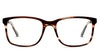 DbyD DB HM01 Men's Glasses Brown