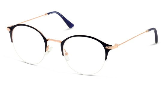 IS HF22 Women's Glasses Transparent / Navy