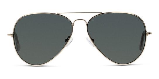 GU03 Unisex Sunglasses Green / Gold