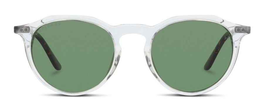 Heritage HS EF38WC Women's Sunglasses Green / Transparent