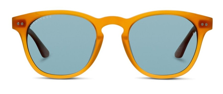 Heritage HS EM15WC (NT) Sunglasses Blue / Brown