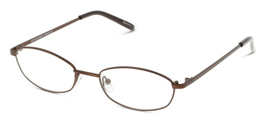 SN IF06 Women's Glasses Transparent / Brown