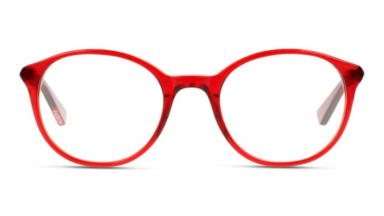 MN JF15 Women's Glasses Transparent / Red