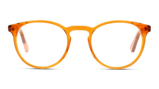 MN JM10 Men's Glasses Transparent / Orange