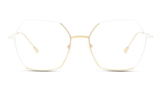 FU KF10 Women's Glasses Transparent / Gold