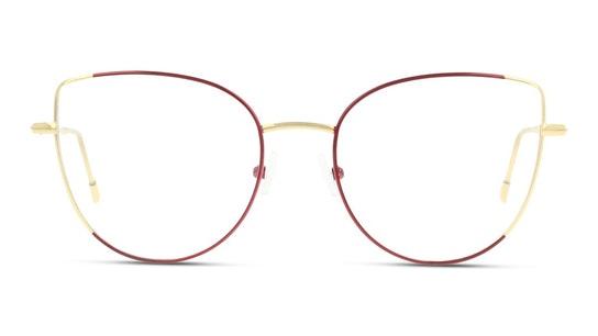 FU KF11 Women's Glasses Transparent / Gold
