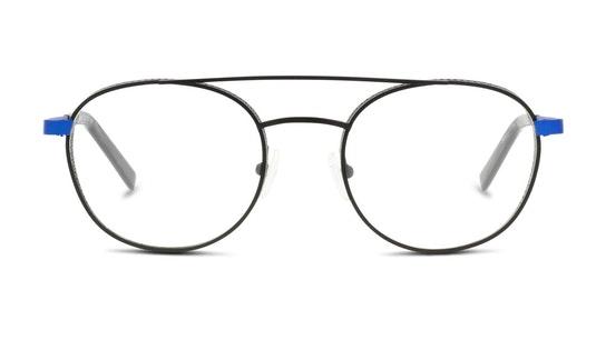 FU IM02 Men's Glasses Transparent / Black