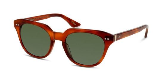 HS EF19 Women's Sunglasses Green / Tortoise Shell