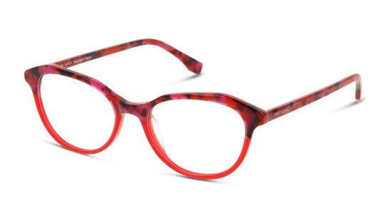 MN OF0031 Women's Glasses Transparent / Havana