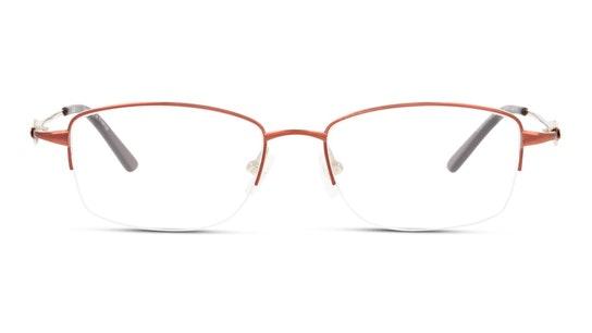 Titanium DB OF9011 Women's Glasses Transparent / Red